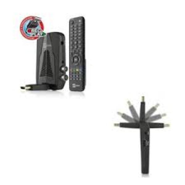 TeleSystem - TS6010HD RIC.DIG.TERR.ZAPPER  HD USB STEALTH
