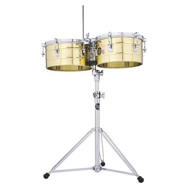 """Lp Latin Percussion - [LP256B] """"Tito Puente"""" Timbales 13""""/14"""" - Ottone"""
