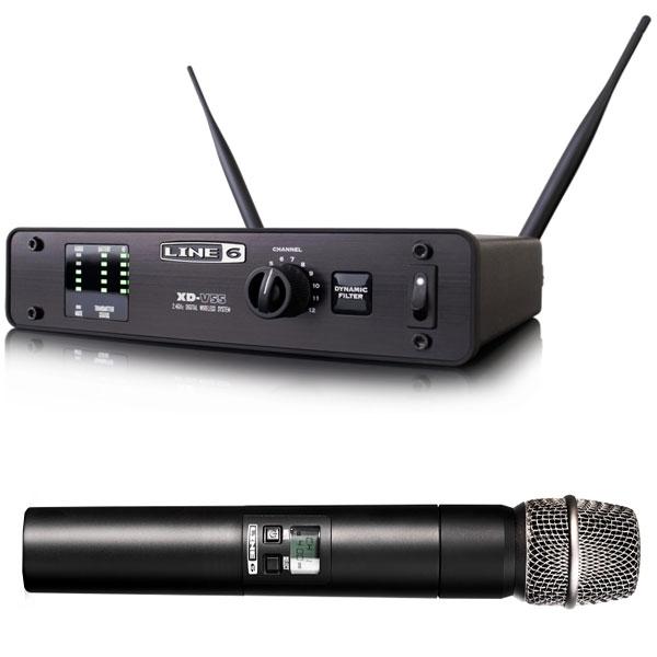 Line6 - [XD-V55] Digital Wireless System Hand 2.4 GHZ 100mt