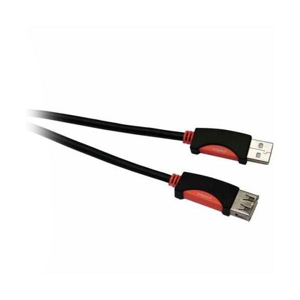 Bespeco - Silos - Cavo USB tipo A M > USB tipo A F 1,8mt [SLAF180]