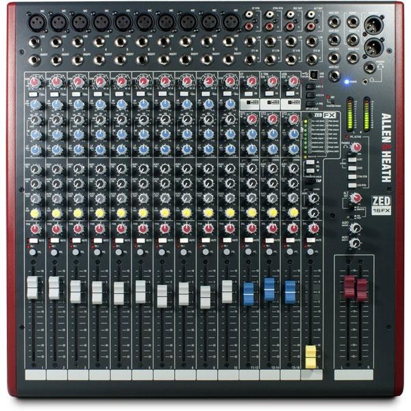 Allen & Heath - Zed - [ZED-16FX] Mixer 16 canali con effetti e USB