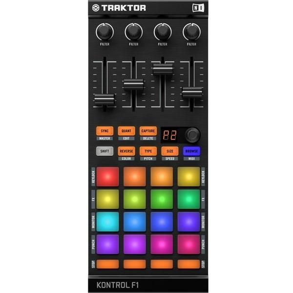 Native Instruments - Traktor - [KONTROL F1] Controller di remix per DJ