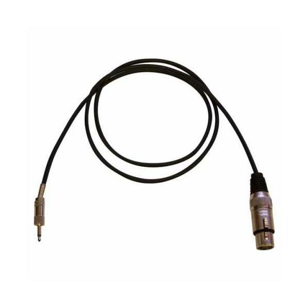 Bespeco - Eagle - Cavo audio jack 3,5mm mono M > XLR 3 poli F 1mt [EBMC100]