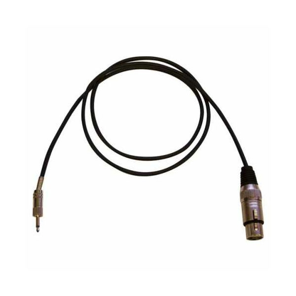 Bespeco - Eagle - Cavo audio jack 3,5mm mono M > XLR 3 poli F 3mt [EBMC300]