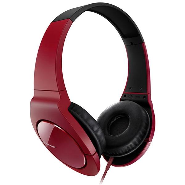 Pioneer - [SE-MJ721-R] Cuffie dinamiche completamente chiuse Rossa