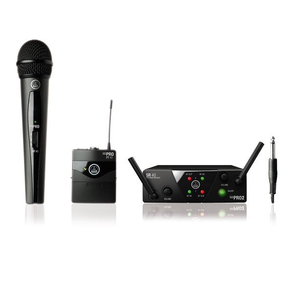 Akg - [WMS 40 PRO MINI] Vocal - Instrumantal set ISM2/3 (864.375 MHz/864.850 MHz)