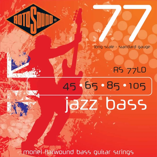 Rotosound - Jazz Bass 77 - RS77LD Corde per basso 45-105