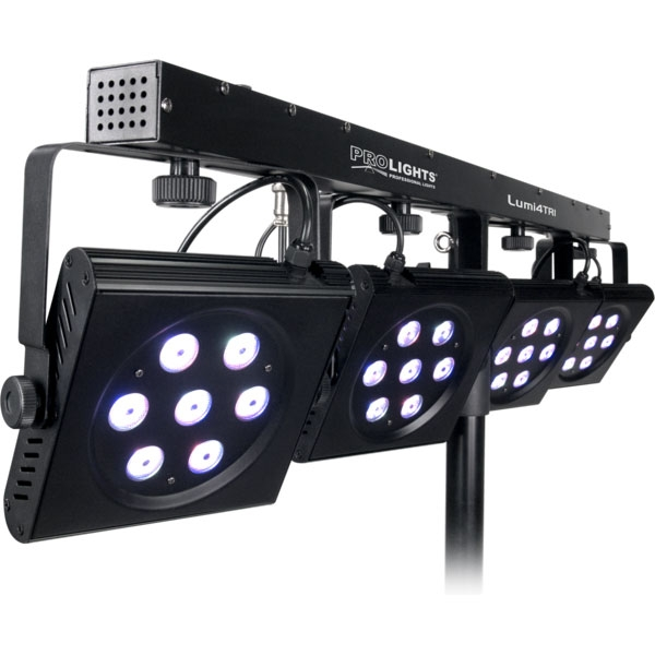 Prolights - [LUMI4TRI] Set di cambiacolori LED Plug'n'Play