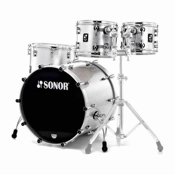 Sonor - ProLite - [PL 12]  STAGE 3 Shells NM Silver Sparkle