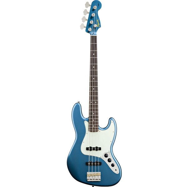 Fender - Squier Artist - James Johnston Jazz Bass Lake Placid Blue Rosewood [0301078502]