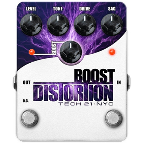 Tech 21 - Boost Distortion
