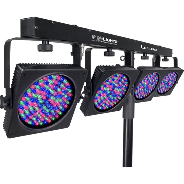 Prolights - [LUMI4RGB] Set di cambiacolori LED Plug'n'Play