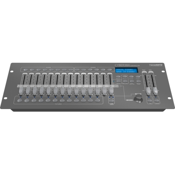 Prolights - [CYBER384] Controller DMX 384 canali