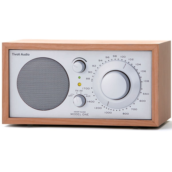 Tivoli Audio - Radio da tavolo - [M1SLC] Model One Cherry-Silver