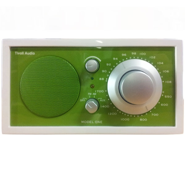 Tivoli Audio - Radio da tavolo - [M1FWKG ] Model One Frost White-Kelly Green