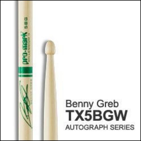 Promark - [TX5BGW] Bacchette Hickory 5B BENNY GREB