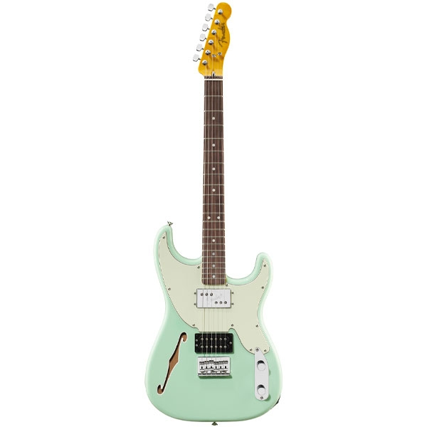 Fender - Pawn Shop - [0266200357] Pawn Shop '72 Stratocaster Surf Green Rosewood