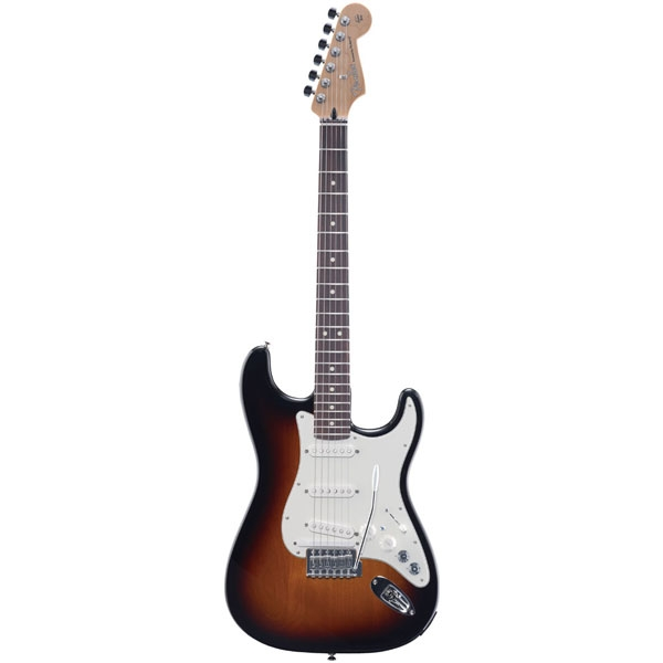 Fender - Roland V-Guitar - [G53TS] VG Stratocaster 3-Tone Sunburst Rosewood