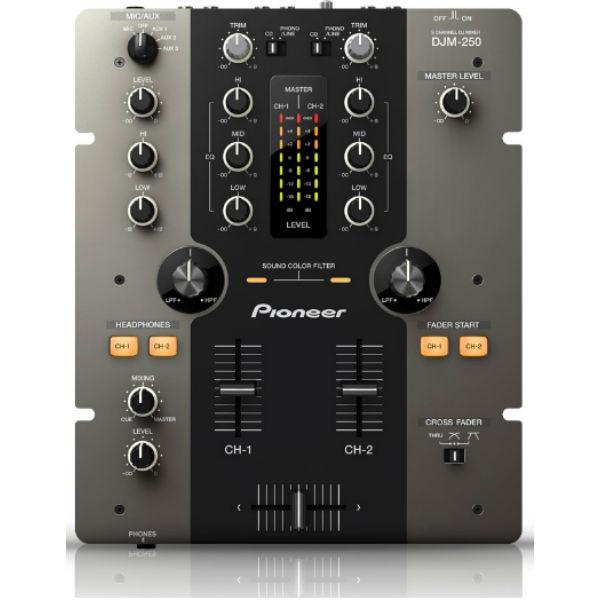 Pioneer - [DJM-250-K] Mixer a 2 canali Nero