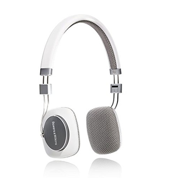 Bowers & Wilkins - P3 - Cuffia stereo serie New Media - Bianco/Grigio