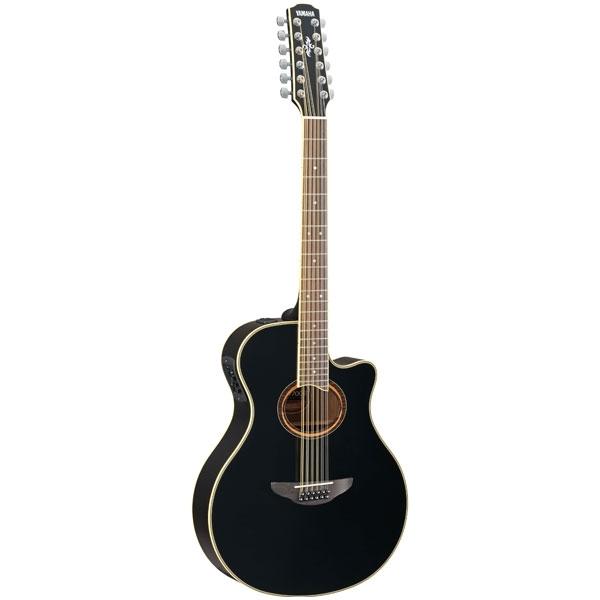 Yamaha - APX - [APX700II-12 BL] Chitarra acustica 12 corde elettrificata Black