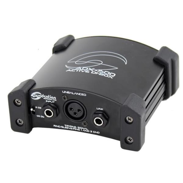 Soundsation - [ADX 500] DI Box attiva Ultra Low Noise