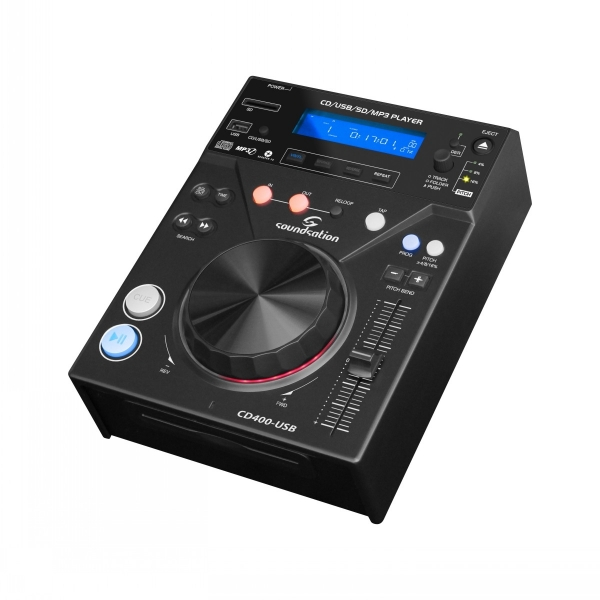 Soundsation - [CD-400 USB] CD MP3 Media Player