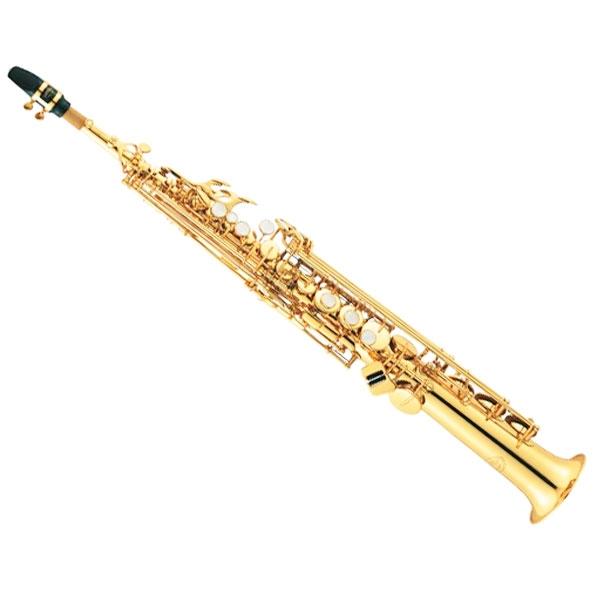 Jupiter - [JPS-747GL] Sax soprano Sib doppio chiver pollice regolabile