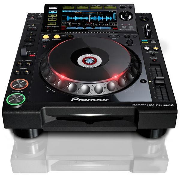 Pioneer - [CDJ-2000NXS] Nexus Deck per DJ digitale professionale