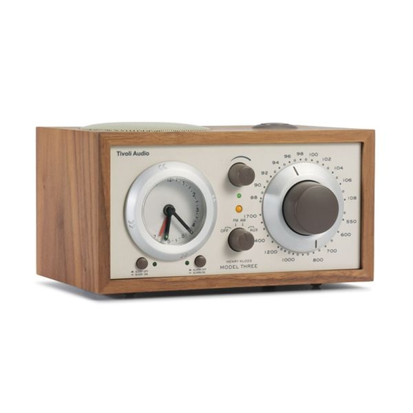 Tivoli Audio - [M3CLA] Radiosveglia Model Three Walnut/Beige