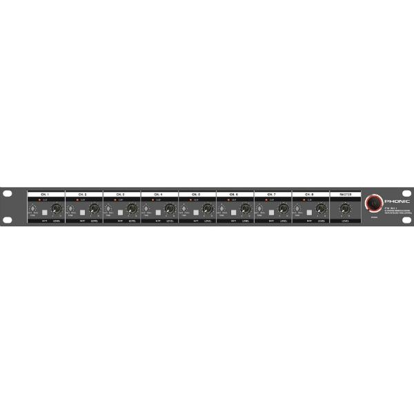 Phonic - [PM801] Mixer analogico 8 canali