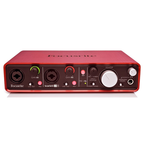 Focusrite - [SCARLETT 2i4] Interfaccia audio USB