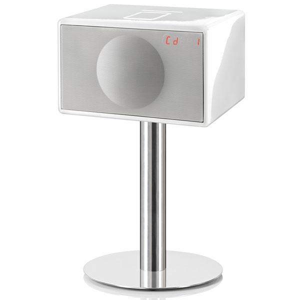 Geneva - L - Sistema audio L Bianco con stand