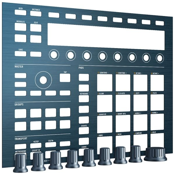 Native Instruments - Maschine Custom Kit - Steel Blue