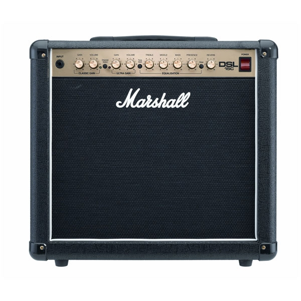 Marshall - [DSL15C]  Combo 2 Canali 15W All Valve