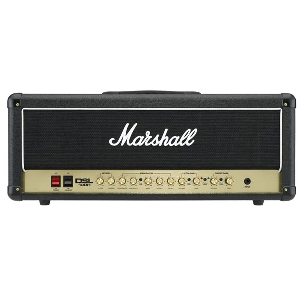 Marshall - [DSL100H]  Testata 2 canali 100W All Valve