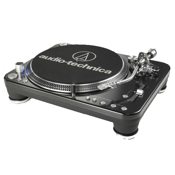 Audio Technica - [ATLP1240] Giradischi Professionale per DJ Direct-drive (USB ed Analogico)