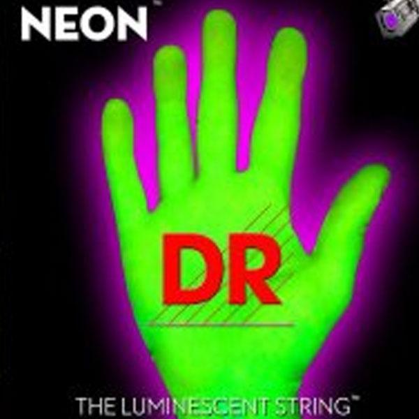 Dr Strings - Neon - [NGB-45] Corde luminescenti per basso Verde .045-.105