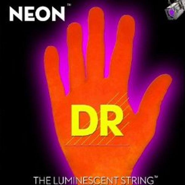 Dr Strings - Neon - [NOB-45] Corde luminescenti per basso Arancione .045-.105