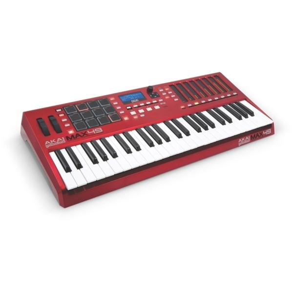 Akai - MAX49 Tastiera/Controller Midi/USB