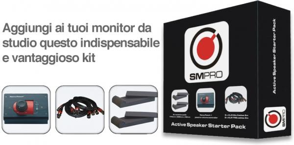 SM Pro Audio - Active Speaker Starter Pack