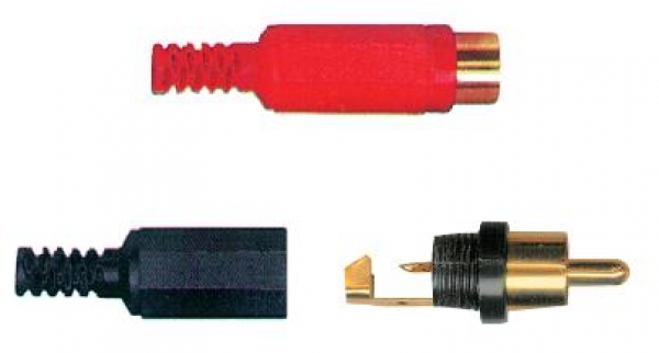 Thender - [49-204] Connettore Plug N-R-G mm 5.0