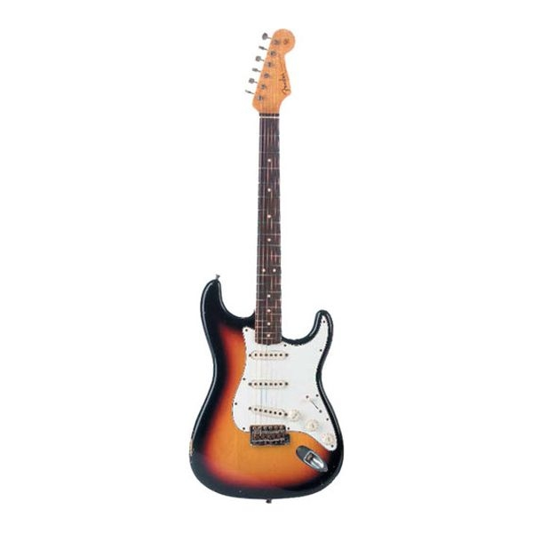Fender - Custom Shop - [9236000921] 60'S Duo Tone Relic Strato 3 Tone Sunburst