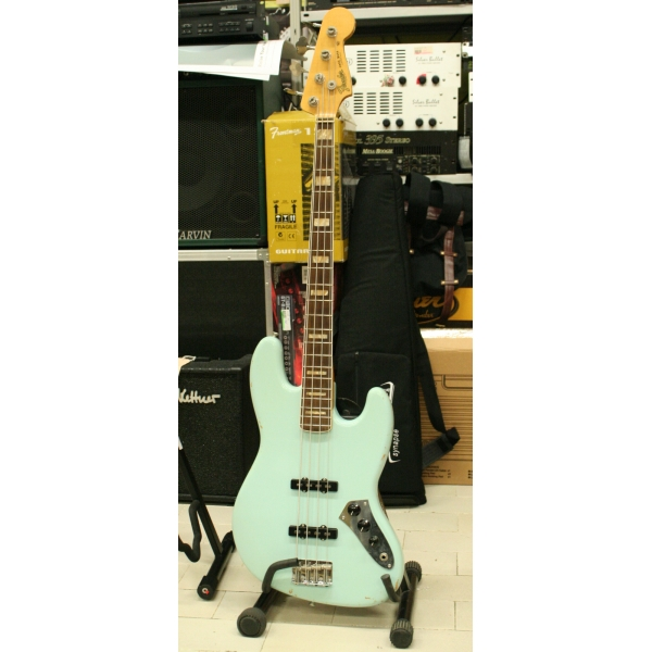 Fender - Custom Shop - 64 Jazz Bass Relic Sonic Blue