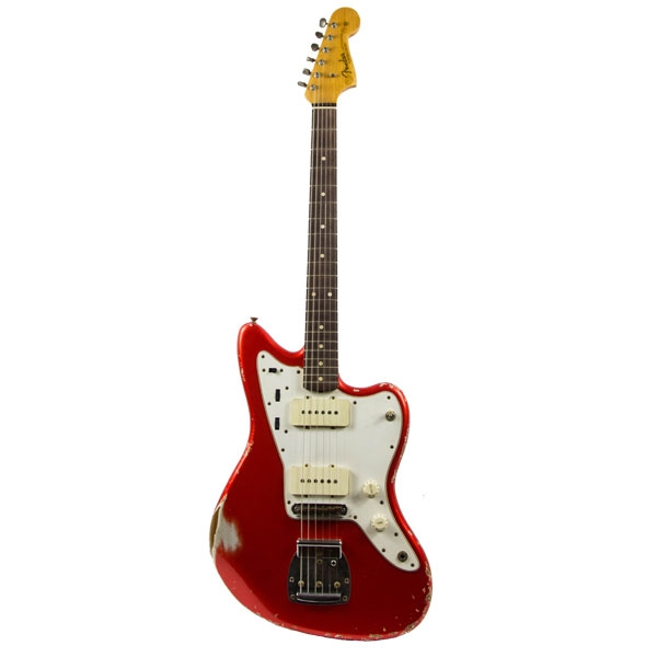 Fender - [9236000044] Jazzmaster Heavy Relic Candy Apple Red