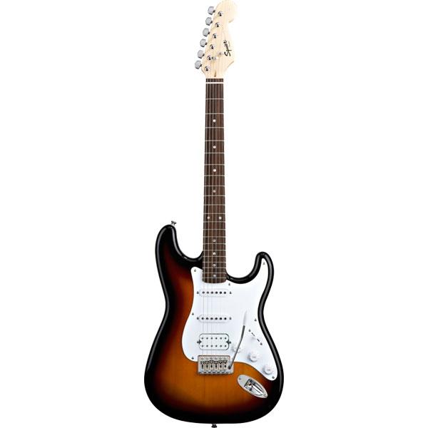 Fender - Squier Bullet - [0310005532] Stratocaster HSS Tremolo Brown Sunburst Rosewood
