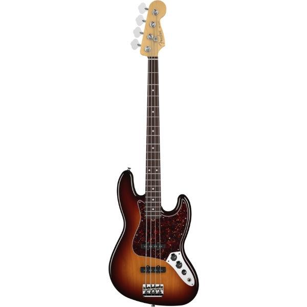Fender - American Standard - [0193700700] American Standard Jazz Bass Rosewood 3-Color Sunburst