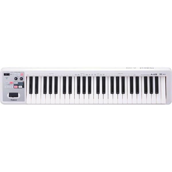 Roland - [A49WH] Controller MIDI a tastiera Bianco