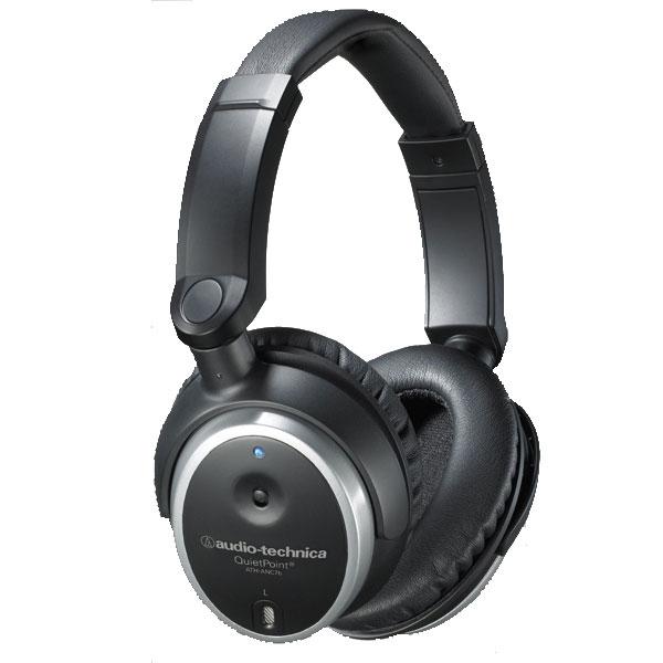 Audio Technica - [ATHANC7B] Cuffia Stereo a Cancellazione Attiva del Rumore