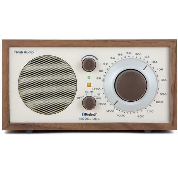 Tivoli Audio - Bluetooth - [M1BTCLA] Model One Bluetooth Walnut-Beige